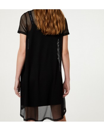 LIU-JO Sport - Mesh dress - Black