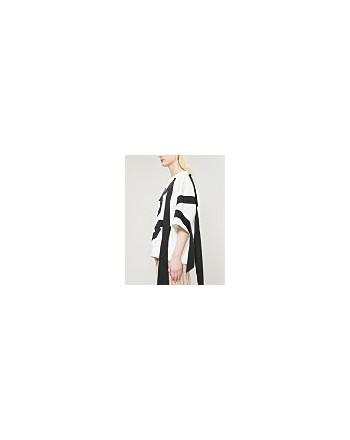 DRIES VAN NOTEN - Felpa in jersey di cotone- Bianco