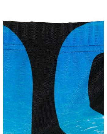 Moschinomare u -  SEA PRINT BRIEFS WITH LOGO