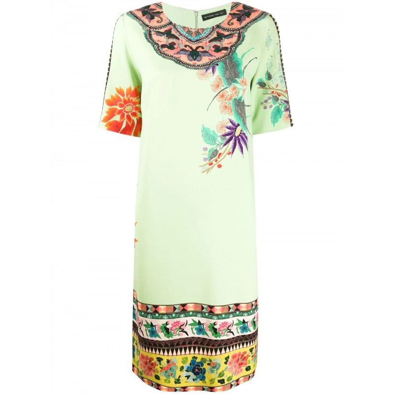 ETRO - ALOE Midi Dress- Light Green