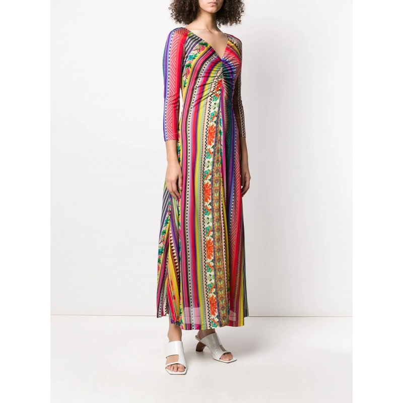 ETRO - Viscose Longuette Dress- Multicolour