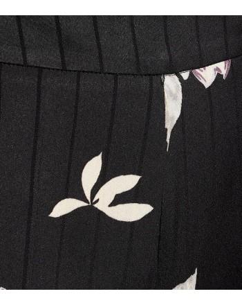 ETRO- Pantalone in Crepe di Viscosa - Nero