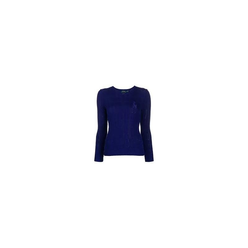 POLO RALPH LAUREN - BRAID SHIRT - ROYAL BLUE