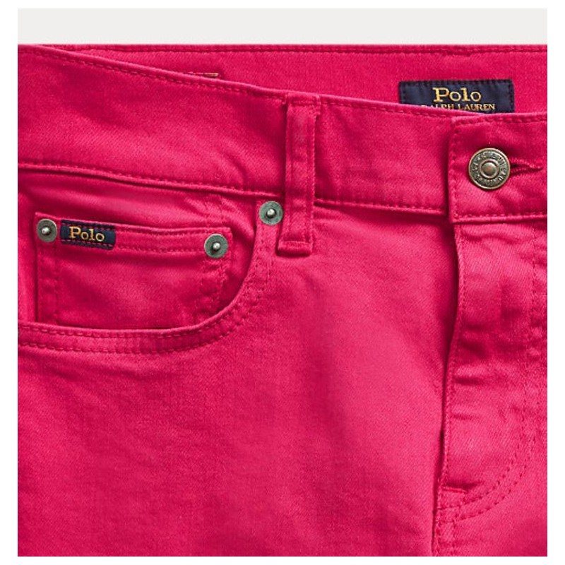POLO RALPH LAUREN - JEANS STRETCH COLORATO