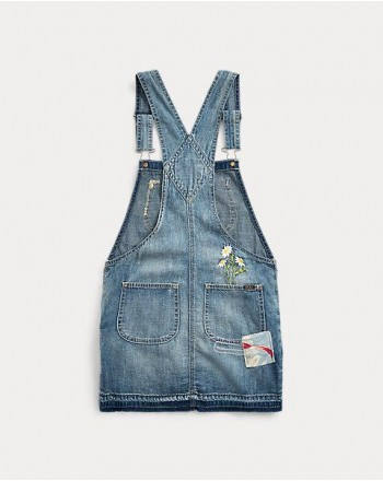 POLO RALPH LAUREN KIDS - Salopette Jeans - Denim