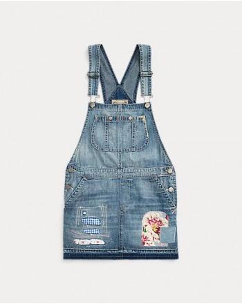 POLO RALPH LAUREN KIDS - Salopette Jeans - Denim