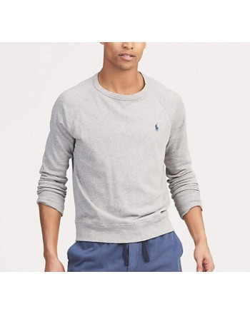 POLO RALPH LAUREN - Lightweight cotton sweatshirt - Andover Heather
