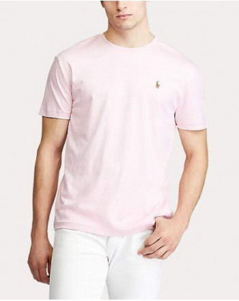 POLO RALPH LAUREN - T-shirt in cotone - pink