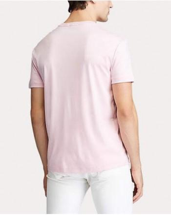 POLO RALPH LAUREN - T-shirt in cotone - pink