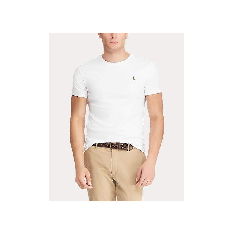 POLO RALPH LAUREN - Cotton T-shirt - White