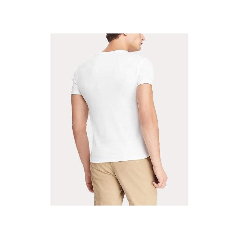 POLO RALPH LAUREN - T-shirt Cotone - Bianco