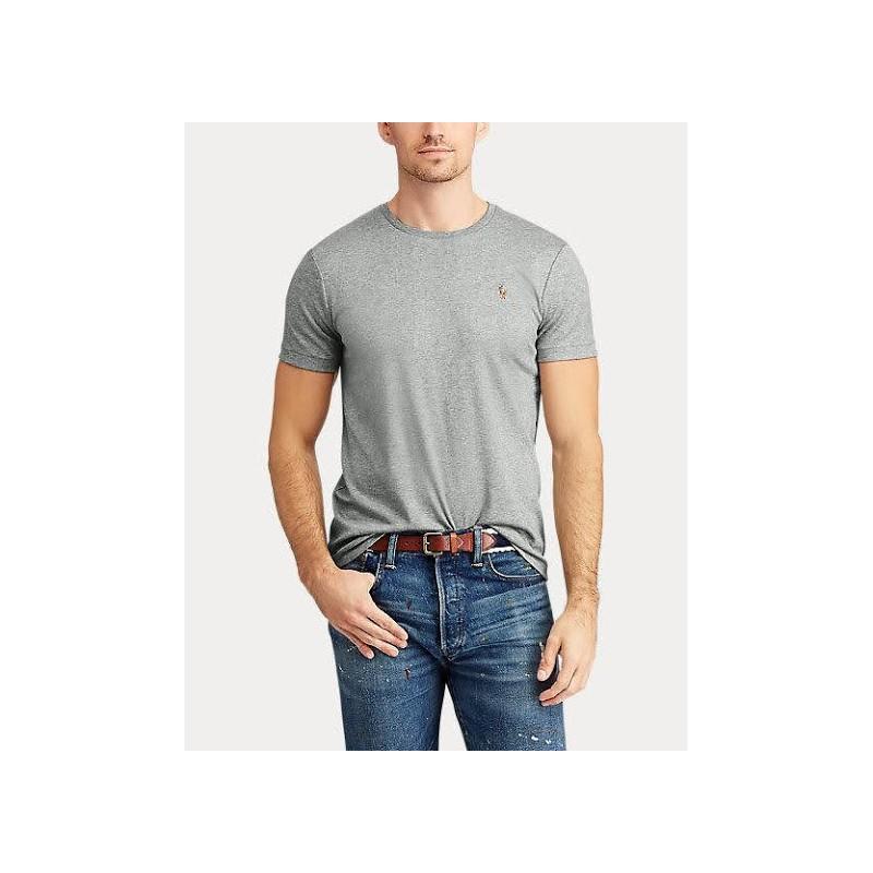 POLO RALPH LAUREN - T- shirt cotone - Grey