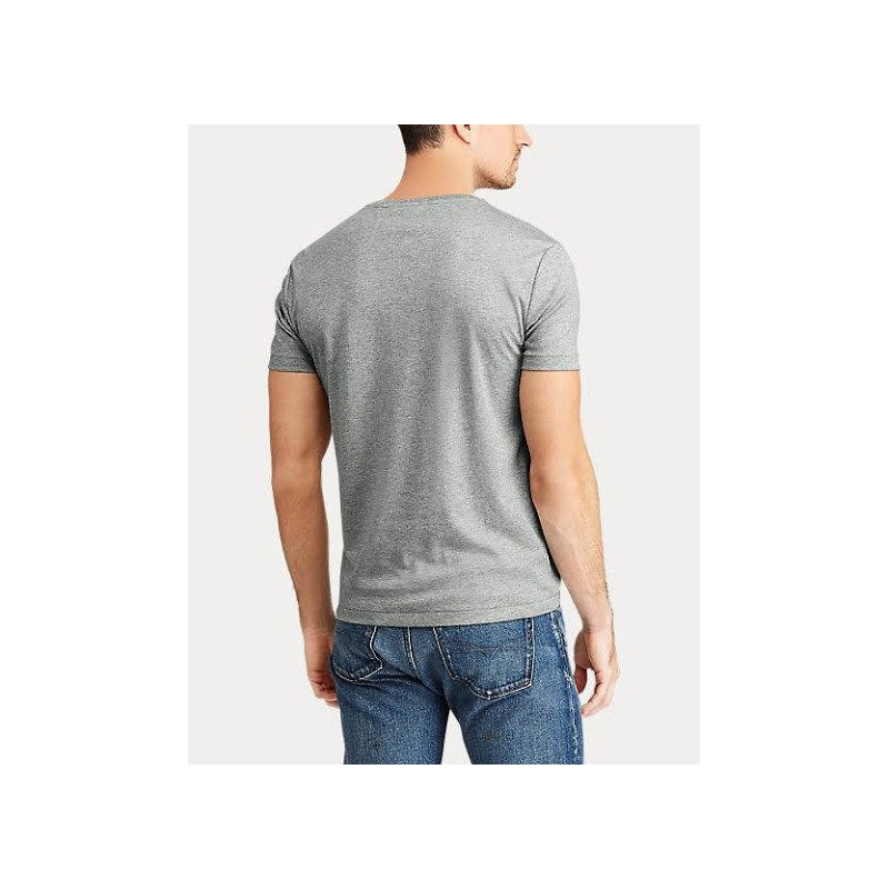 POLO RALPH LAUREN - T- shirt cotone - Grey