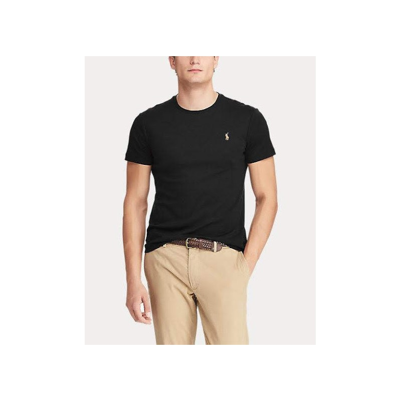 POLO RALPH LAUREN - Cotton T-shirt - Black
