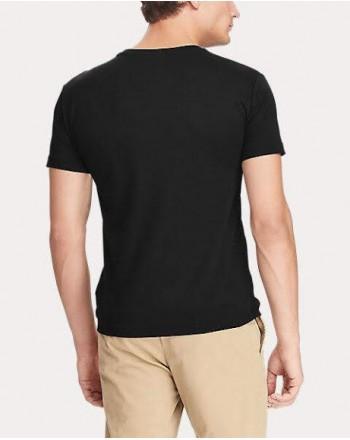 POLO RALPH LAUREN - T- shirt cotone - Nero