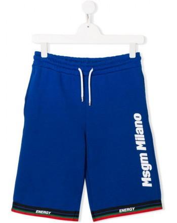 MSGM Baby- Pantaloni Sportivi MILANO -Royal