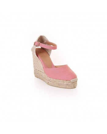 CASTANER - Espadrille CAROL - Pink Chicle
