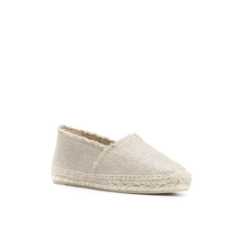 CASTANER - EspadrillE KITO - Light Gold