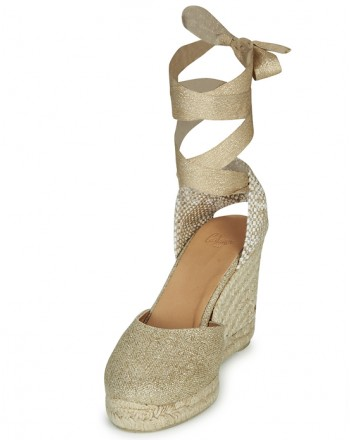 CASTANER - Espadrilla CARINA - Light Gold