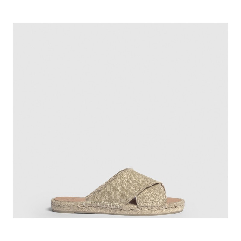 CASTANER - PALMERA Slipper - Light Gold