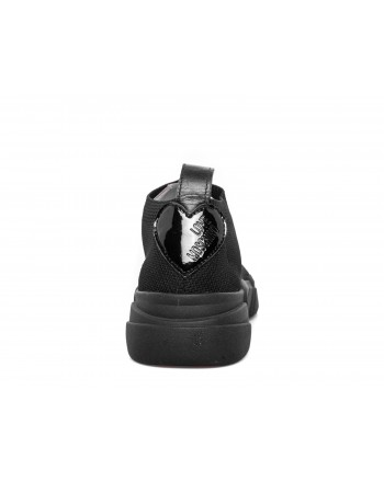 LOVE MOSCHINO - Sneakers with logo - Black