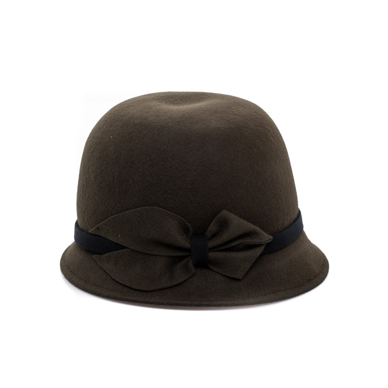 GALLO - Cappello Cloche in Feltro - Militare