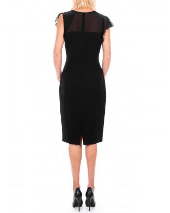 MAX MARA STUDIO - ESSENZA dress in Silk  - Black