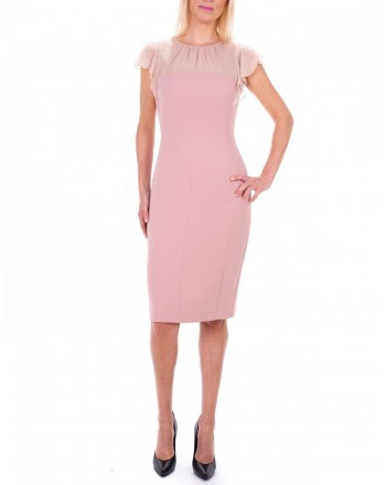MAX MARA STUDIO - ESSENZA dress in Silk - Pink