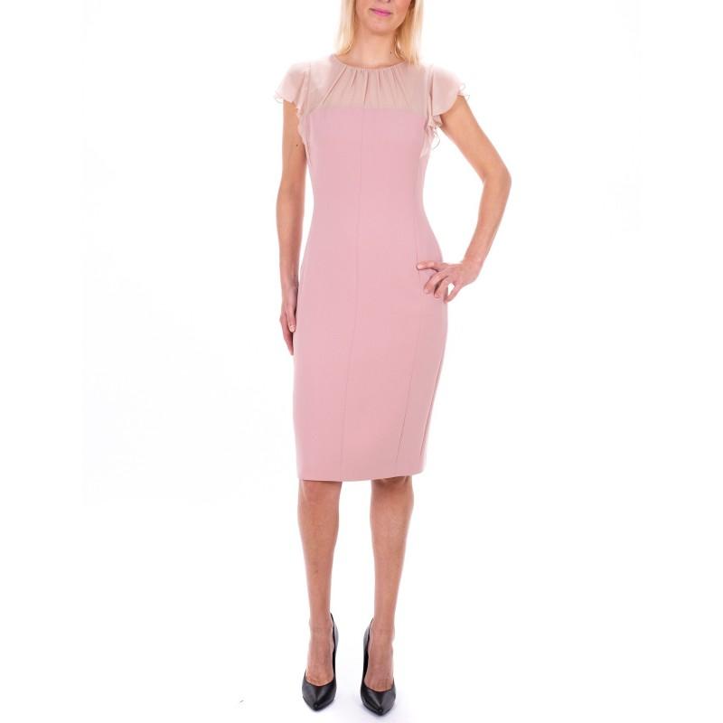 MAX MARA STUDIO - ESSENZA dress in Silk - Pink