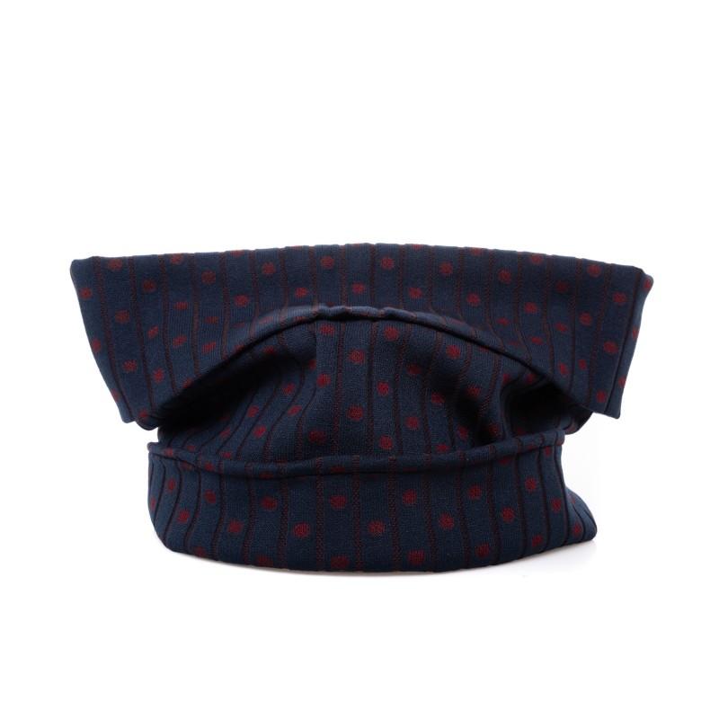 GALLO - Collo in lana a pois - Oltremare