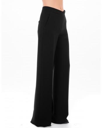 MAX MARA - LUGLIO trouser in cady - Black