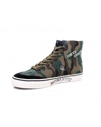 POLO RALPH LAUREN - Sneaker Solomon camouflage - Camouflage Green