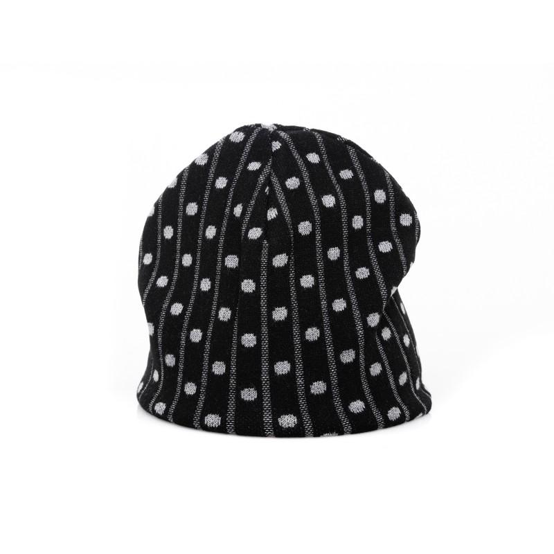 GALLO - Rib hat in Viscose - Black