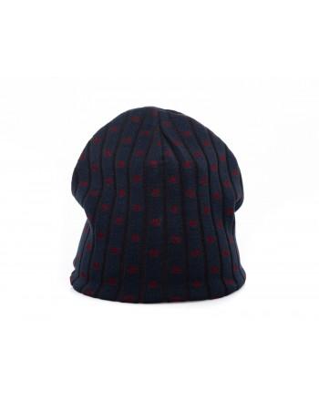 GALLO - Rib hat in Viscose - Blue