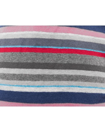 GALLO - Micro stripes pile beanie  - Copiativo/Blue