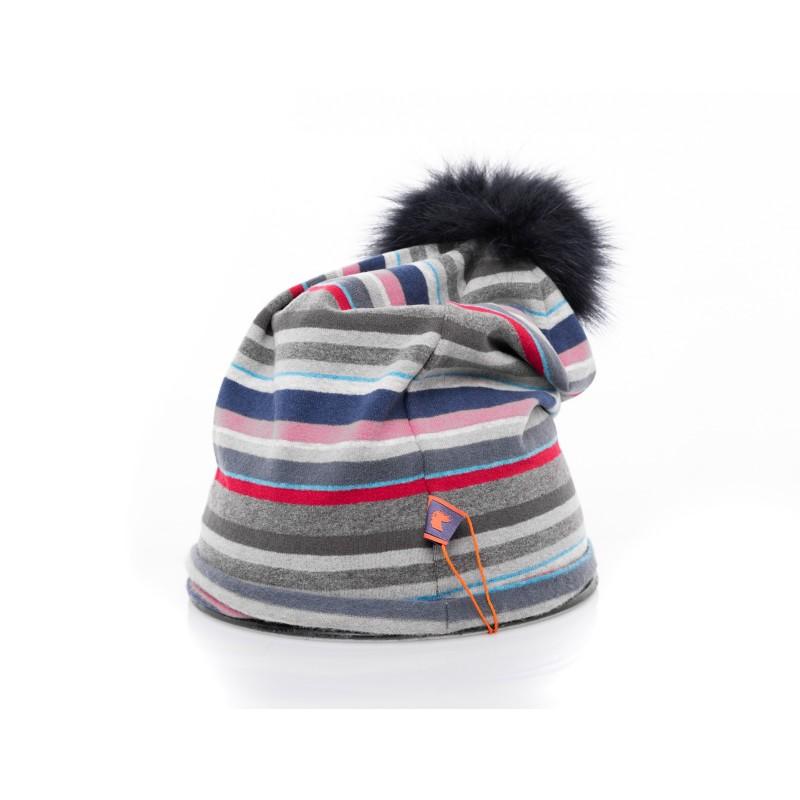GALLO - Cappello con Pom Pom - Copiativo/blu