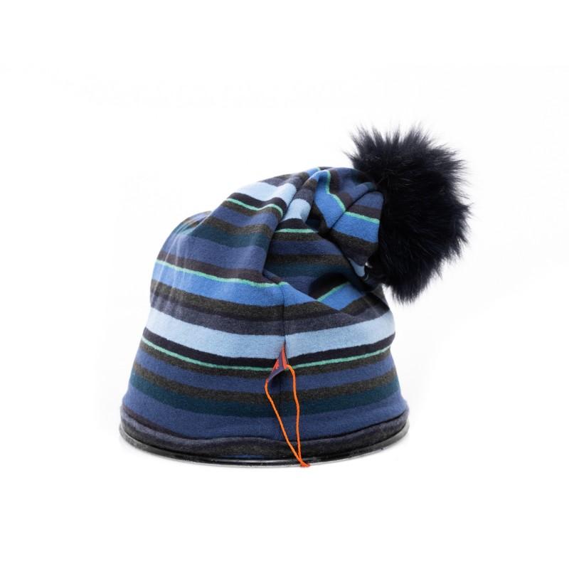 GALLO - Cappello con Pom Pom - Pirite/Abisso