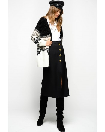 PINKO- Wool Midi Lenght Shirt MONSONE