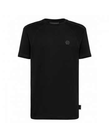 PHILIPP PLEIN - T-Shirt in Cotone ISTITUTIONAL - Nero