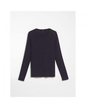 WEEKEND MAX MARA -  Viscose Jersey T-Shirt MULTIE - Blue