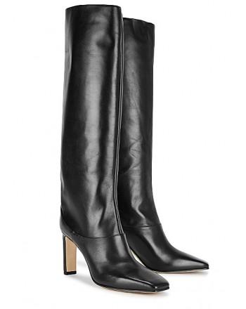 JIMMY CHOO - MAHESA 85 Boots - BLACK
