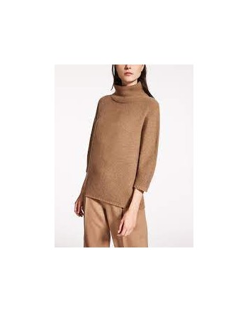 MAX MARA -  Wool and Cashmere KNIT ETRUSCO - Camel
