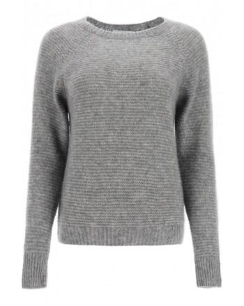 MAX MARA - Wool and Cashmere Knit SATRAPO - Grey