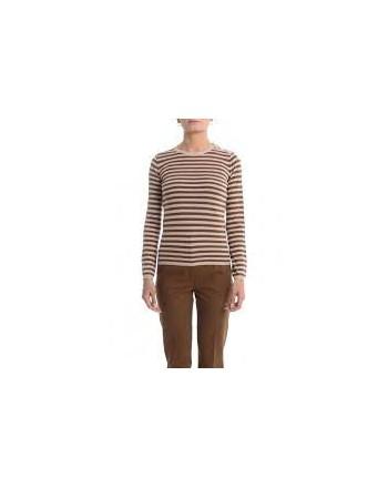 MAX MARA - Wool Knit KIRIE - Grey/Tobacco