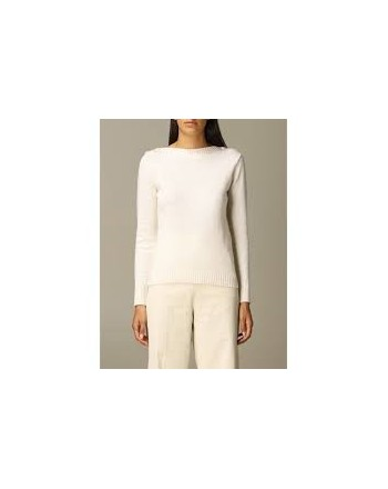 MAX MARA - Wool and Cashmere Knit PELOTA - White