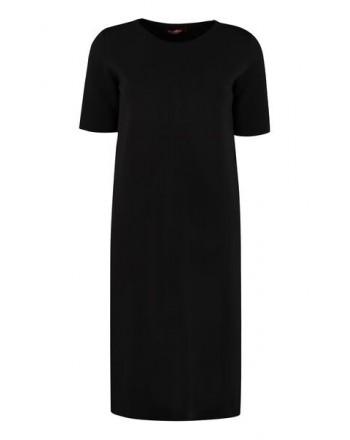 MAX MARA STUDIO  - PAGGI  Wool Dress - Black
