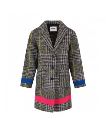 MSGM KIDS - Cappotto in Lana GALLES - Galles