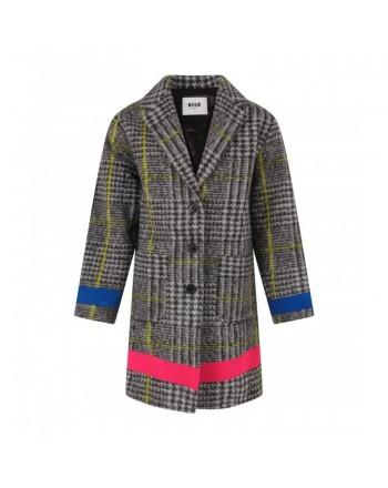 MSGM KIDS - Wool Coat GALLES- Galles
