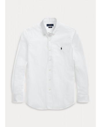 POLO RALPH LAUREN  - Shirt - Custom Fit - White -