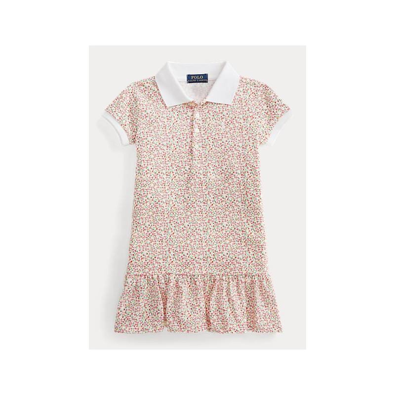 POLO KIDS - Flowery  Polo Dress -